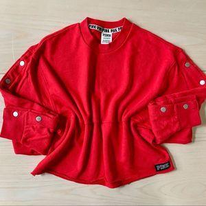 PINK Victoria's Secret Long Sleeve Crop Sweater